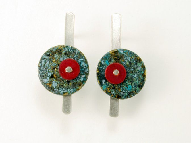 "Context Galeria - Oriach - Reina, arracades / pendientes / earrings ""IT 2"""