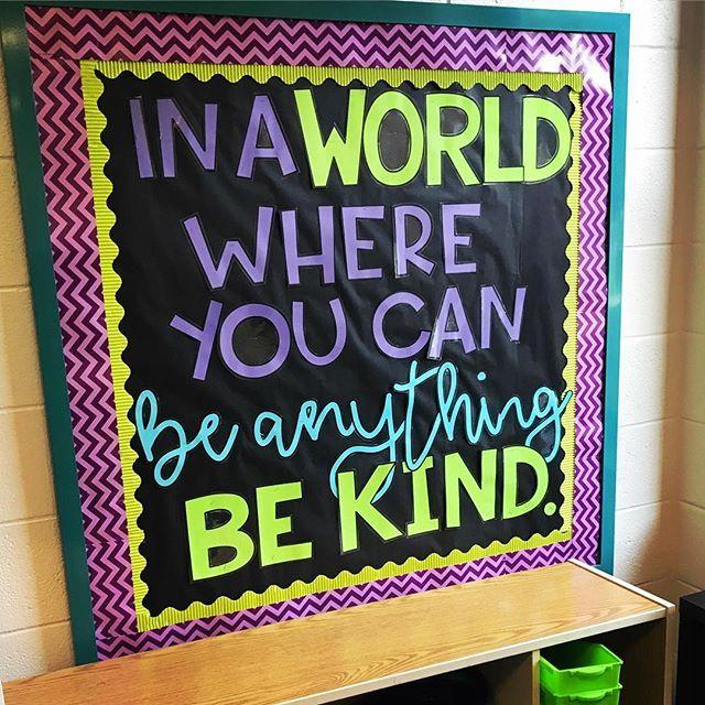 applesandabcs made it so easy to create this! #kindergarten #bulletinboard #backtoschool