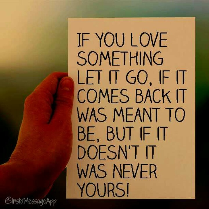 Love Finds You Quote: Let It Go Quotes. QuotesGram