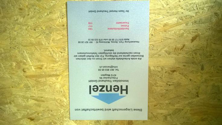 Schilder, Alublech silber glänzend A4 – Beney Plus