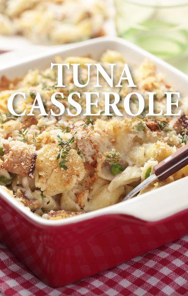 Rachael Ray Comfort Food: Tuna Casserole Recipe with White Pepper
