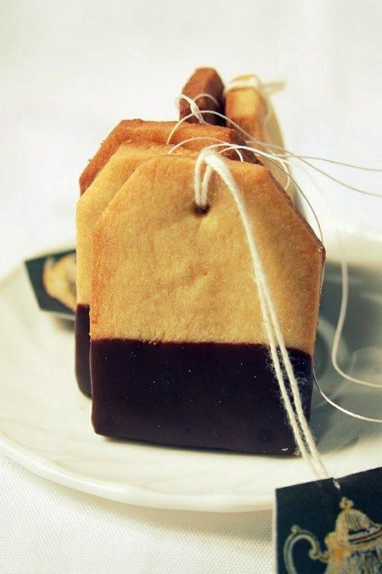 ricomincio dal tè: Biscotti-bustina di tè