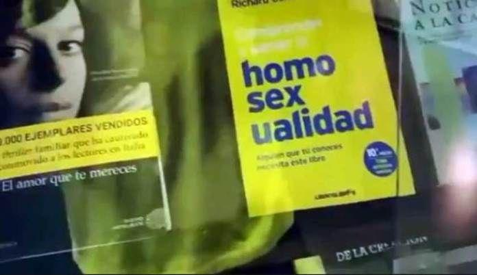 """Peru: Universidad de Piura exhibe libro sobre cómo """"sanar la homosexualidad"""
