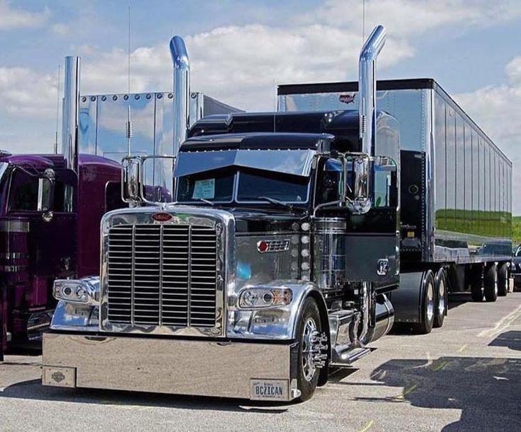 Peterbilt 379 Single Axle For Sale >> 516 best images about super trucks on Pinterest | Peterbilt 389, Semi trucks and Peterbilt 379