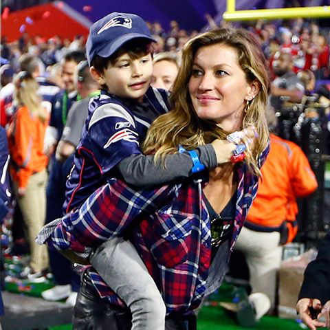 Photo of the Day: Tom Brady, Gisele, and Their Adorable Kids Celebrate the Super Bowl Win  #InStyle