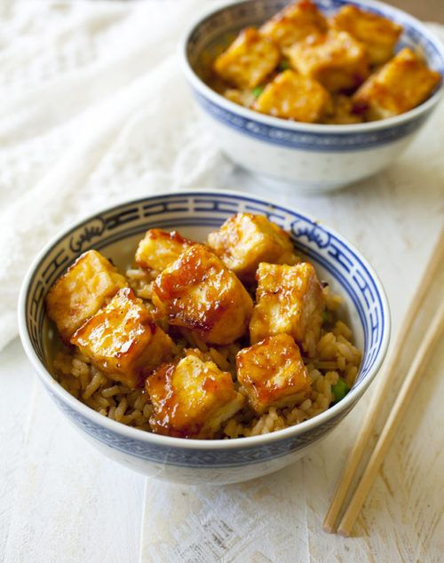 Imagen de rice, tofu y arroz