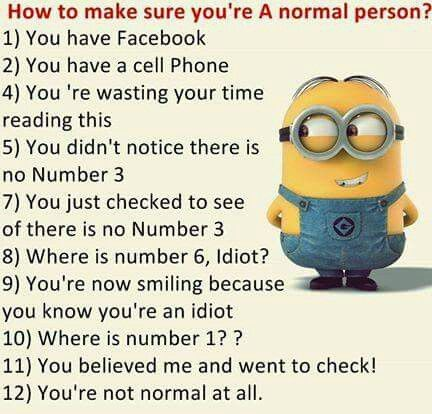 Are you normal?