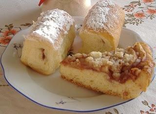 moje záľuby... : Buchty a koláč z jedného cesta