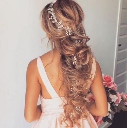 Wedding Hairstyles Messy Boho Curls 26 Ideas