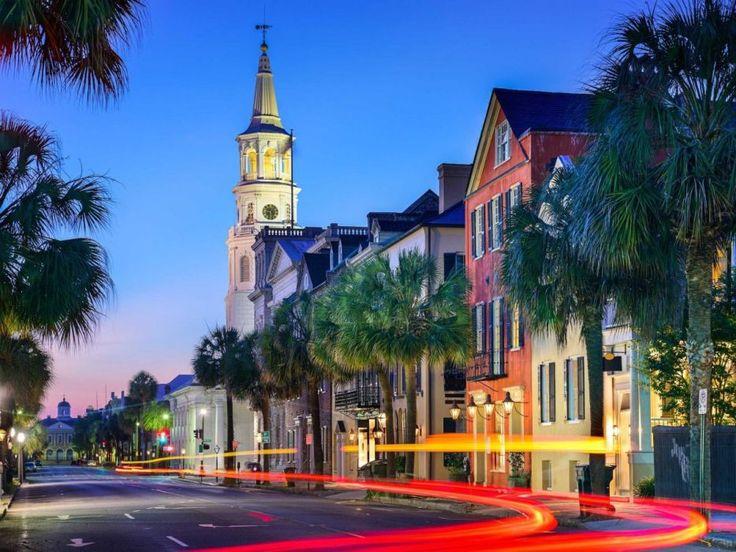 2. legszebb város a világon: Charleston, USA
