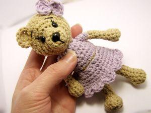 szydełkowy miś, crochet teddy bear