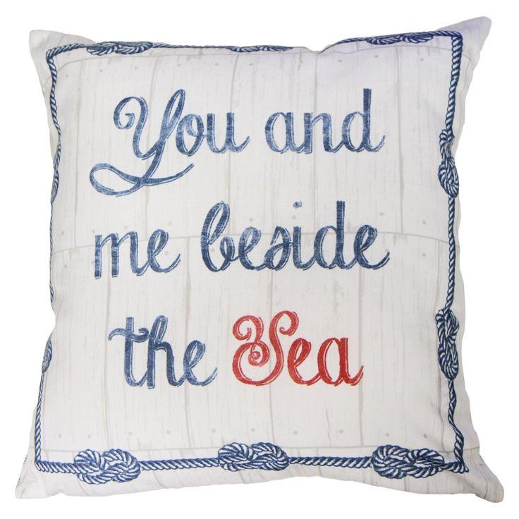 Rathmore filled cushion blue