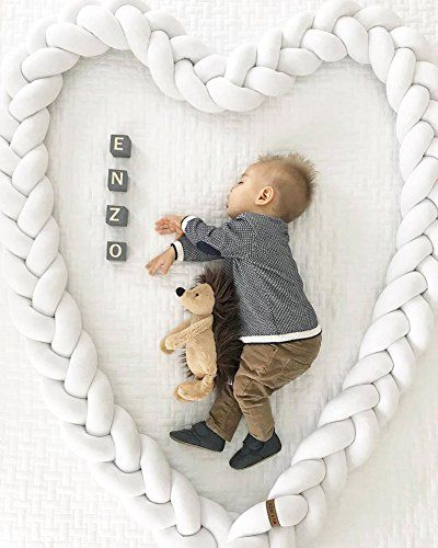Pillow Baby Bedding Cheap Sale Knot Baby Pillow Baby Room Decor Kids Head Protection Braided Knots Cushion Baby Decoration Room Newborn Photography Accessories