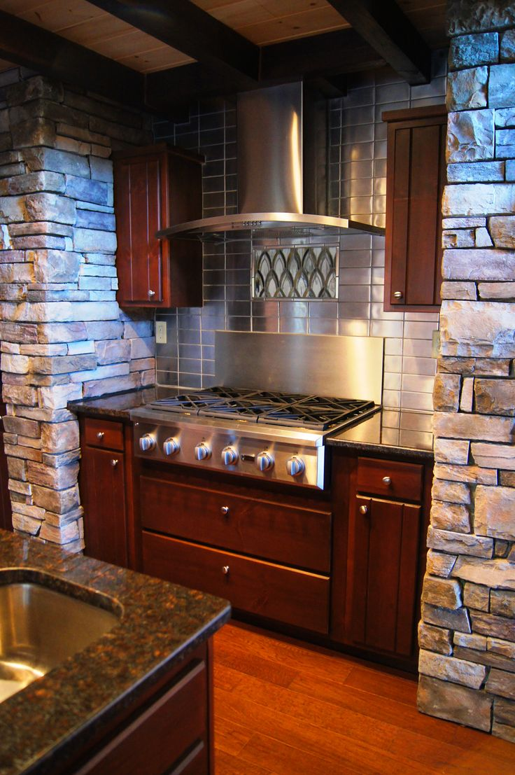 54 best images about jocassee log home gallery on for Log cabin kitchen backsplash ideas