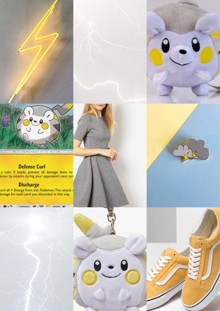 Togedemaru Pokemon Pokemon Aesthetic Inspiration Mood Board
