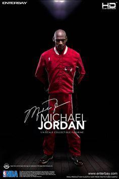 Figura Michael Jordan 51 cm. Escala 1/4. Línea HD Masterpiece. NBA Collection. Enterbay Espectacular figura articulada de Michael Jordan de 51 cm a escala 1/4 de la línea HD Masterpiece (NBA Collection) de la prestigiosa compañía fabricante Enterbay. Figura 100% oficial y licenciada.
