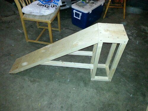 how to build a cheap ramp