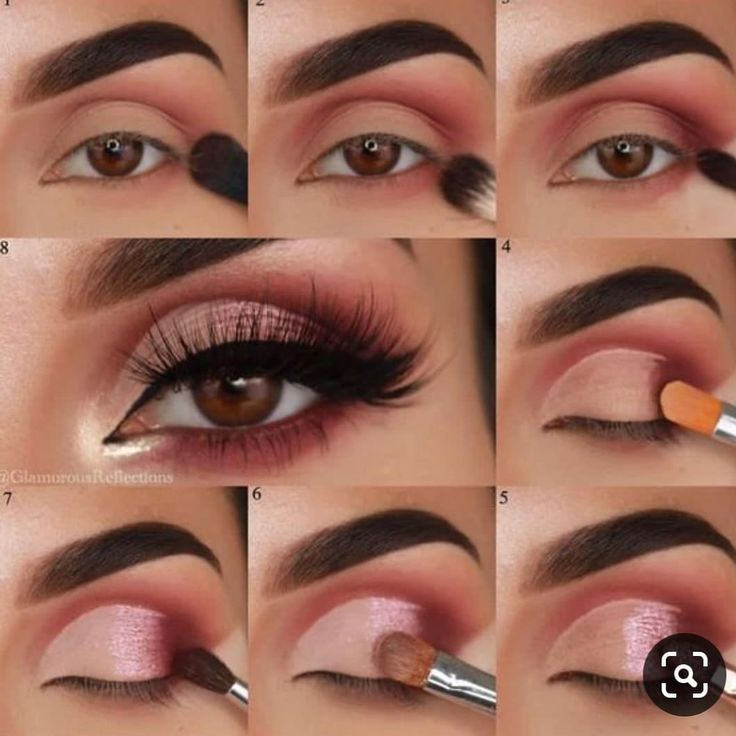 Schritt für Schritt Augen Make-up Guide Hoffe es gefällt dir #nofilters # 757makeupartist #Be …