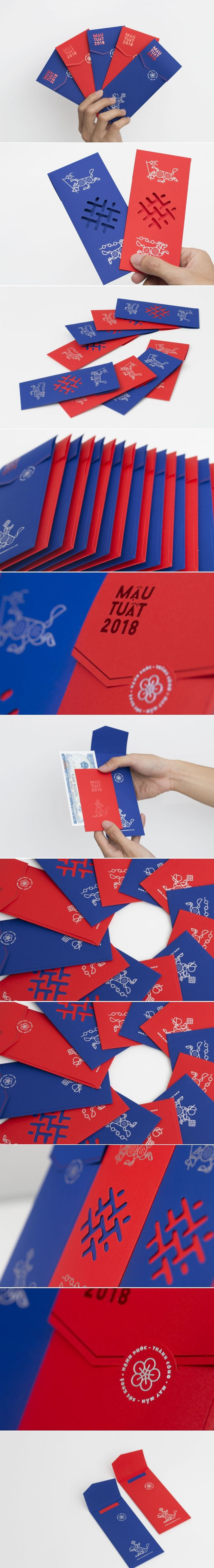 Check Out This Unique Take On The Lucky Red Envelope for The New Year — The Dieline | Packaging & Branding Design & Innovation News