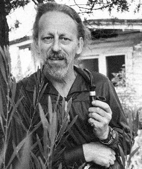 "Theodore Sturgeon - [ This man wrote some of the most beautiful fiction & some of the most bizarre science fiction ever printed (sometimes both at once). He is probably most famous for 'Sturgeon's Law' - ""Ninety percent of everything is crap."" Many people think Sturgeon's Law is cynical. I disagree. -