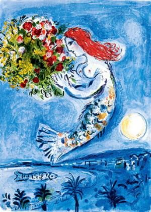 Chagall - La baie des anges