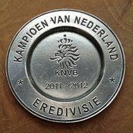 Ajax champions trophy 2011-2012 of the Dutch Soccer League