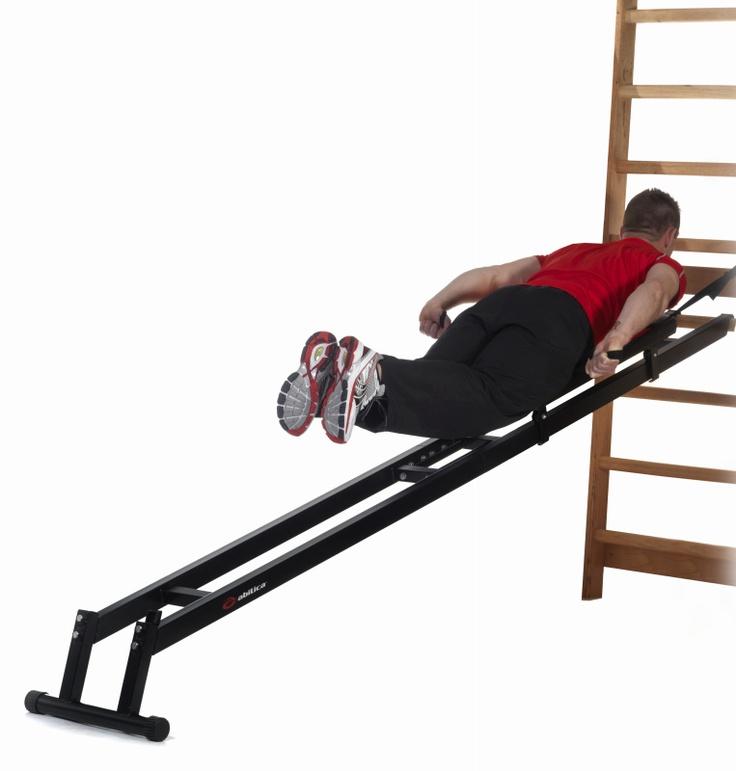 Treningen styrker effektivt overkropp og armer. Meget godt egnet for dobbeltak trening, og er derfor spesielt populær blant langrennsløpere.