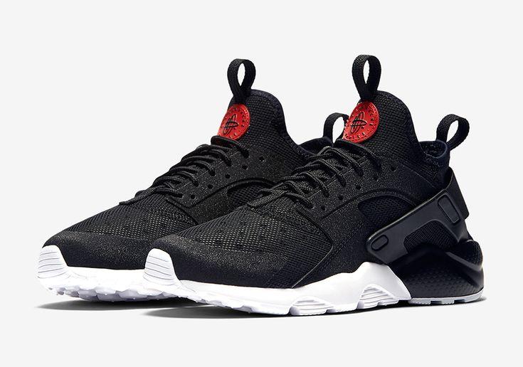 "#sneakers #news A Sleek New ""Bred"" Colorway Of The Nike Huarache Ultra Appears"
