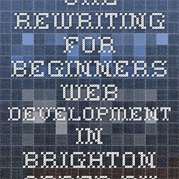 URL Rewriting for Beginners - Web Development in Brighton - Added Bytes