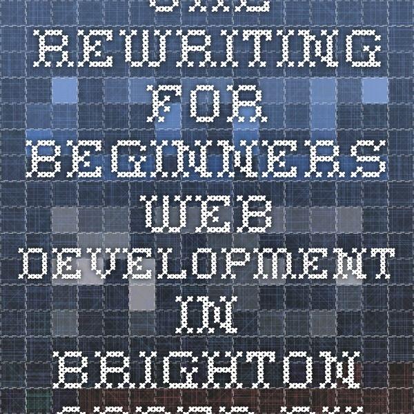 URL Rewriting for Beginners - Web Development in Brighton - Added Bytes