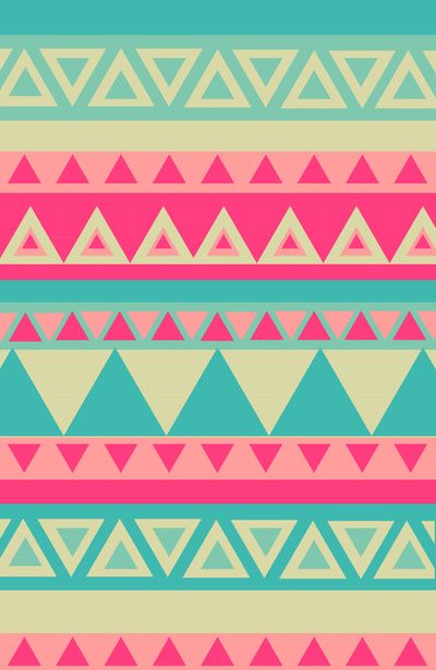 Tropical Tribal Art Print | Apples, iPhone wallpapers and ...