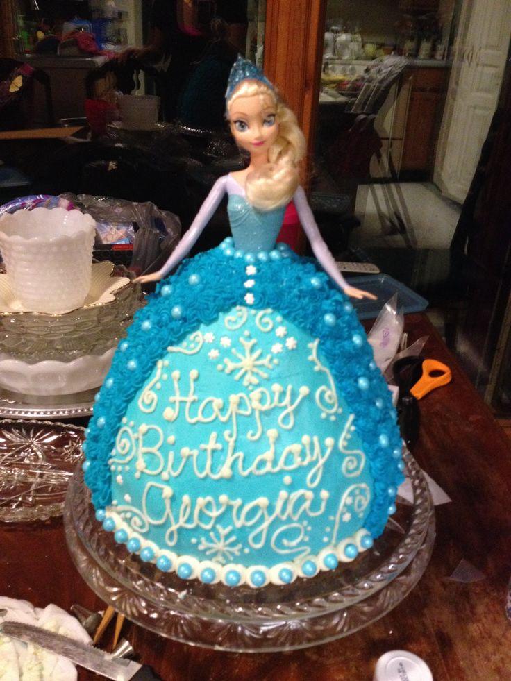 19 best frozen cakes images on Pinterest Frozen party Frozen