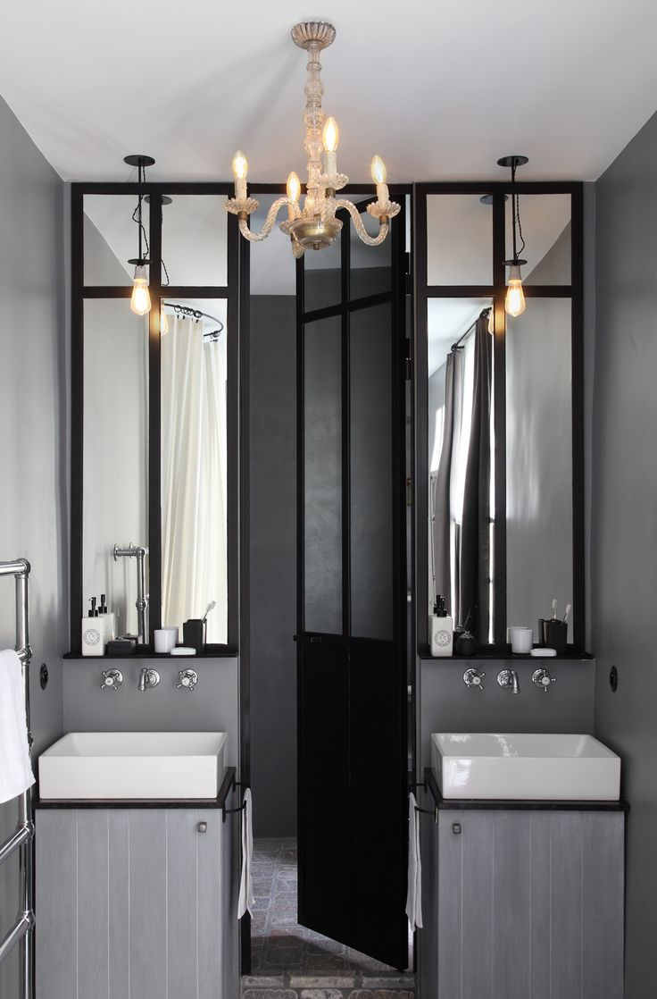 best 25 grey bathroom decor ideas on pinterest half bathroom decor restroom ideas and half. Black Bedroom Furniture Sets. Home Design Ideas