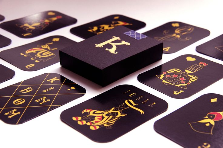 Kindom Playing Cards on Packaging of the World - Creative Package Design Gallery