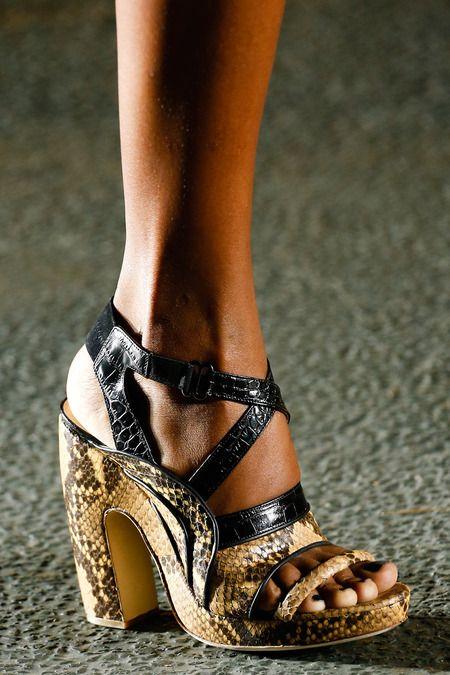 Dries Van Noten SS 2014: 2014 Spring Fashion Shoes, Spring2014 Driesvannoten, Noten Ss, Fashion Week, Noten Spring, Dry Vans Noten Shoes, Spring 2014, Ss 2014, Shoes 2014 Fashion