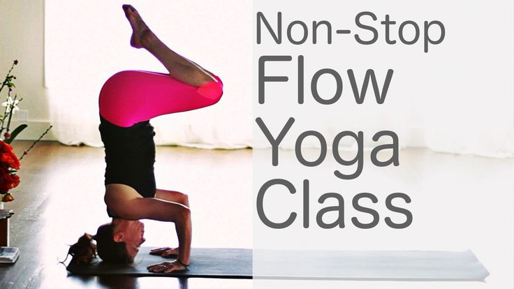 Heart-pumping cardio yoga flow: Free Yoga with Lesley Fightmaster.  Fast flowing intermediate to advanced inversion yoga.