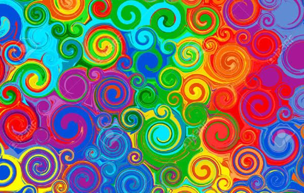 9 Abstract Rainbow Patterns Free Sample Example Format Rainbow Abstract Rainbow Pattern Pattern