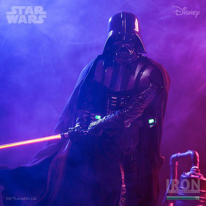 Estátua Darth Vader Ep V Legacy Replica 1/4 - Star Wars - 53 cm - Iron Studios  - Comic Store Brasil