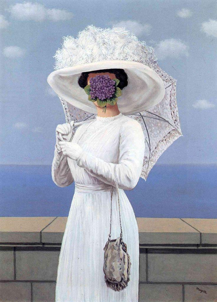 RENE MAGRITTE. La Grande Guerre (The Great War), 1964, oil on canvas. Surrealism.
