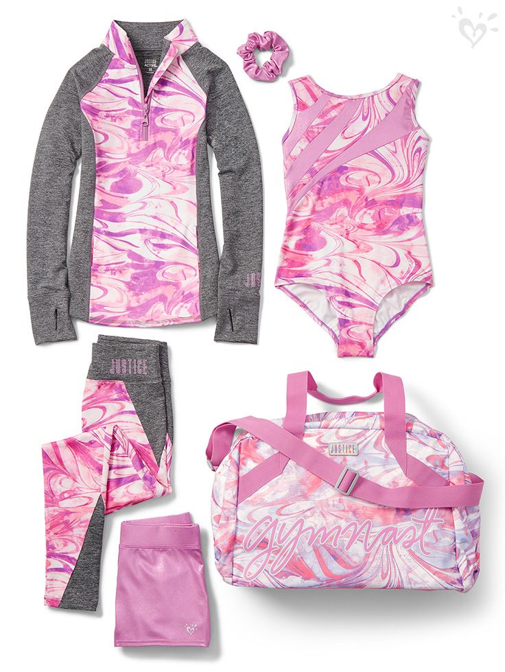 Performance pieces that raise the style bar. Choose from our Dance & Gymnastic collection's zip-front jacket and matching dance leggings, leotards, shorts, duffel bag and more!