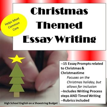 the best christmas essay ideas holiday writing  christmas themed essay writing w rubrics printables