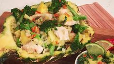 The Body Coach's turkey and pineapple fried rice