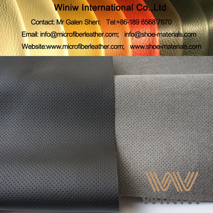 PU Microfiber Leather For Car Seat Upholstery And Interior