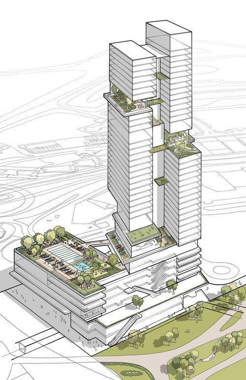 KPF … MRI Garden – #facade #Garden #KPF #MRI #architecture #archi