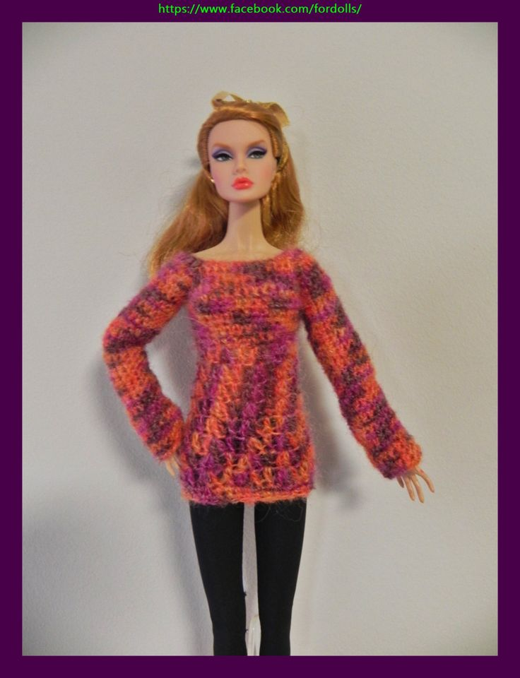 "Jersey para muñecas Fashion Royaty / integrity / Barbie  / Poppy Parker 12"" de Fordollsboutique en Etsy"