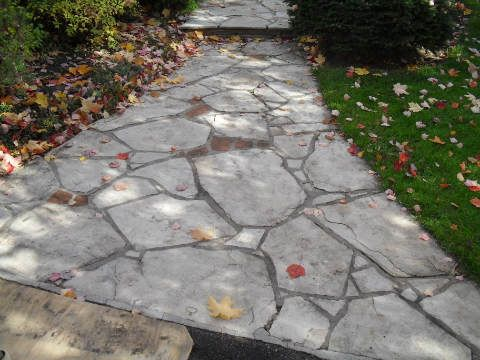 Up Coming 2011 Flagstone Projects : How To Lay Flagstone Laying A Stone  Patio