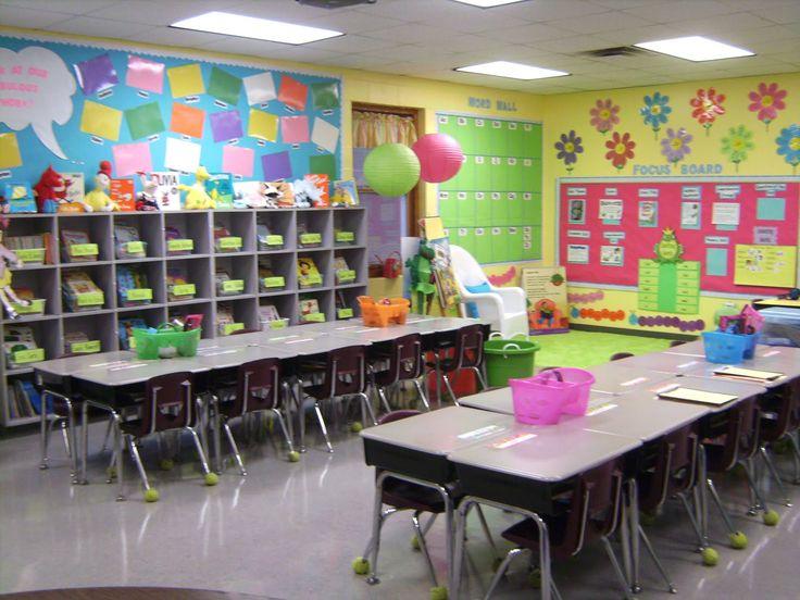 Colorful Kids Classroom Wall Decoration Plus Amazing Organisation!