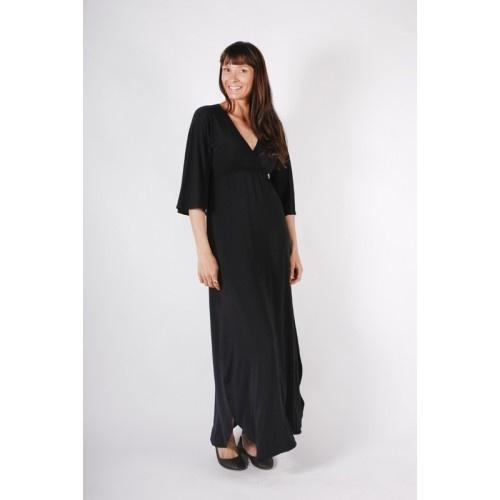 Bamboo Maxi Kaftan Dress $149