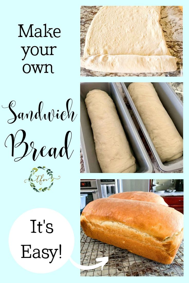 Learn how easy it is to make your own bread with this step-by-step recipe! Not only is it cheaper (less than $1 a loaf)…