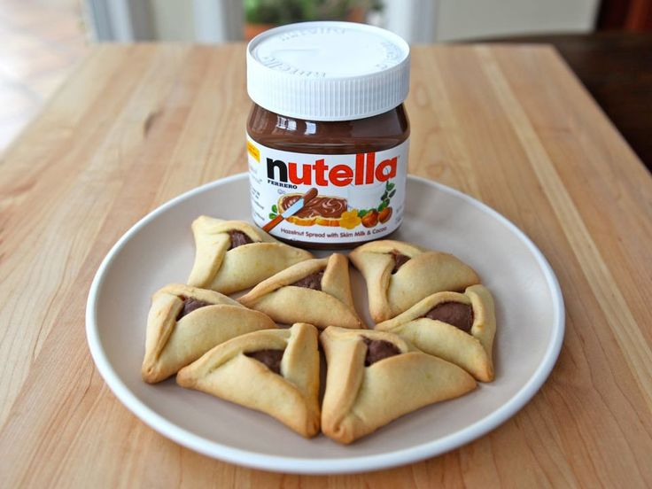 Nutella Filling for Hamantaschen - The Easiest Filling